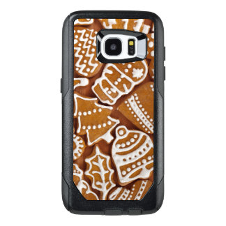 Christmas Gingerbread Holiday Cookies OtterBox Samsung Galaxy S7 Edge Case