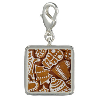 Christmas Gingerbread Holiday Cookies Photo Charms