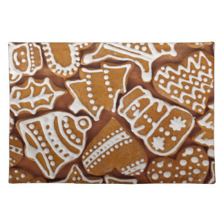 Christmas Gingerbread Holiday Cookies Placemat