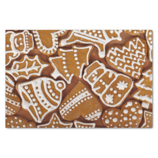 Christmas Gingerbread Holiday Cookies Tissue Paper