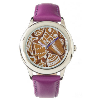 Christmas Gingerbread Holiday Cookies Watches