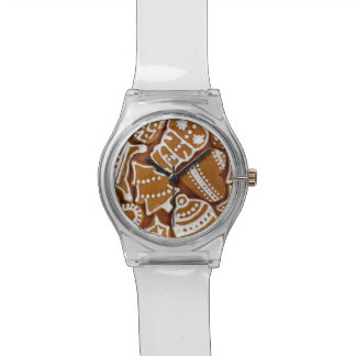 Christmas Gingerbread Holiday Cookies Wristwatches