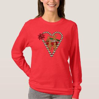 Christmas Gingerbread Men Cute Holiday T-Shirt