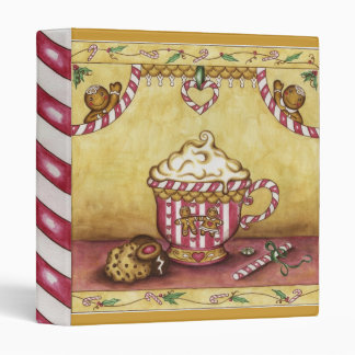 Christmas Gingerbread Recipe Scrapbook Binder