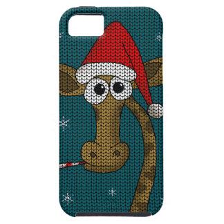 Christmas Giraffe iPhone 5 Cover