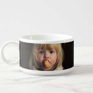 Christmas girl - christmas child - cute girl bowl
