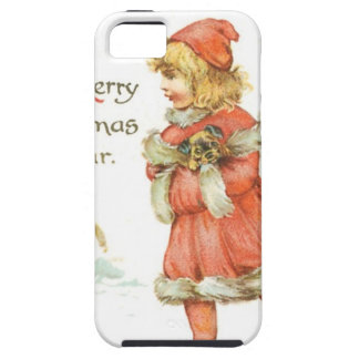 Christmas Girl Ice Skating iPhone 5 Case