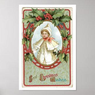 Christmas Girl Poster
