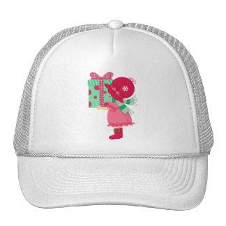 Christmas Girly Present Mesh Hats