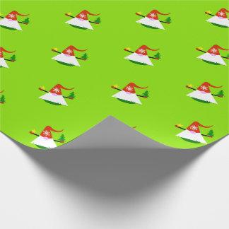 Christmas Gnome Holiday Gift Wrap