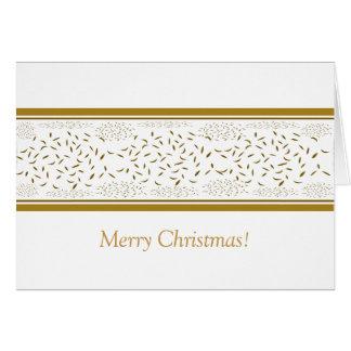 Christmas Gold Flex Card