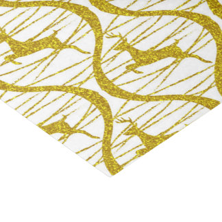 Christmas Gold Tissue Paper