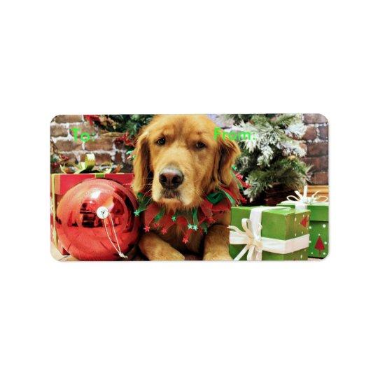 Christmas - Golden Retriever - Zoe Label