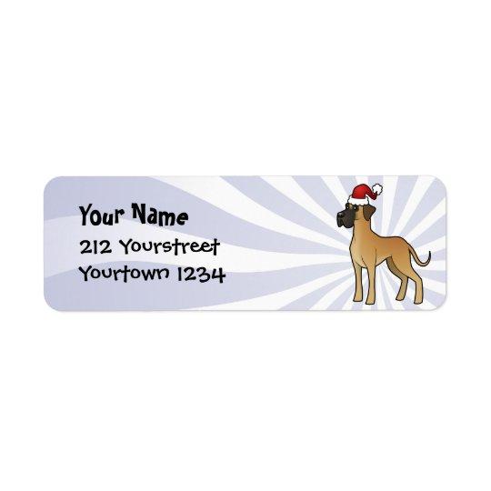Christmas Great Dane
