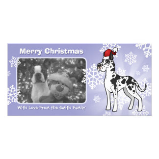 Christmas Great Dane Card