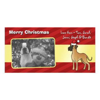 Christmas Great Dane Photo Card