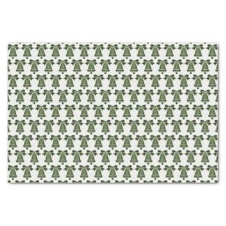 Christmas Green Christmas Bells Tissue Paper