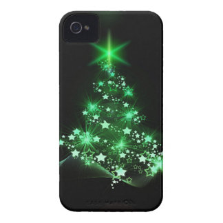 Christmas green tree iPhone 4 Case-Mate case