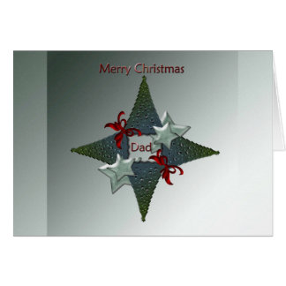 Christmas greeting card for Dad