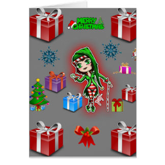 Christmas greeting card for everyone person