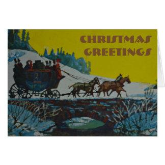 Christmas greeting - Christmas Card