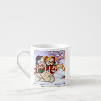 Christmas Greetings 3 Espresso Cup