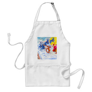 Christmas Greetings Art Standard Apron
