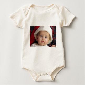 Christmas greetings baby bodysuit