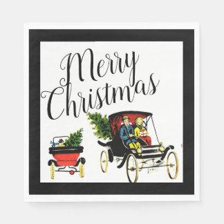 Christmas Greetings Paper Napkins