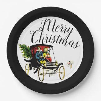 Christmas Greetings Paper Plates