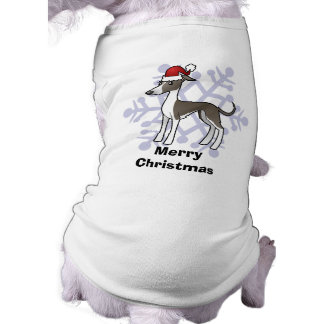 Christmas Greyhound / Whippet / Italian Greyhound Dog Clothes