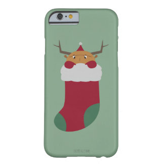 Christmas guy in a socks barely there iPhone 6 case