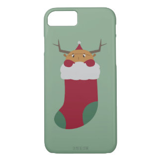 Christmas guy in a socks iPhone 7 case