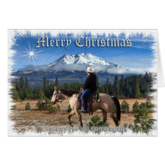 CHRISTMAS - HE WILL COME AGAIN CARD