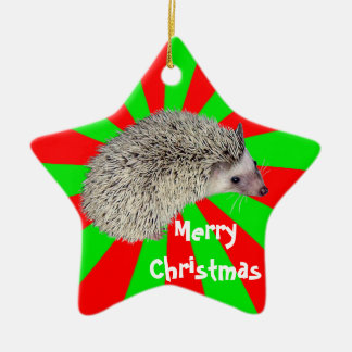 Christmas Hedgehog Ornament