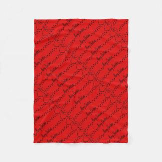 Christmas Hedgie Fleece Blanket