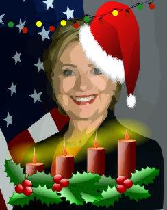 Hillary Clinton Christmas.Hillary Clinton Christmas Gifts On Zazzle Ca