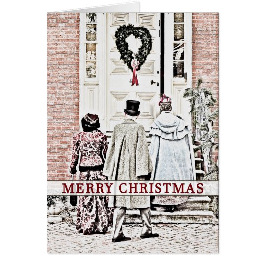 Christmas - Historic Old New Castle Celebration Card