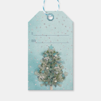 Christmas Holiday - Beautiful Xmas Tree Gift Tags