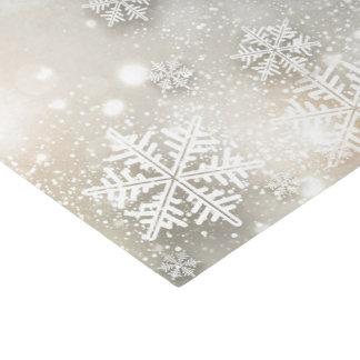 Christmas Holiday Elegant Snowflake Tissue Paper