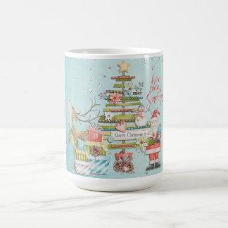 Christmas Holiday - Here Comes Santa Coffee Mug