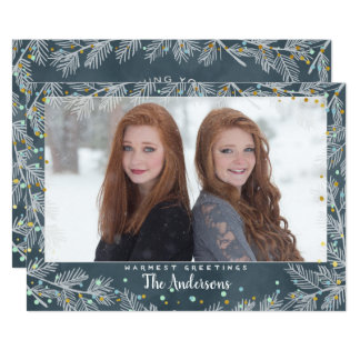 Christmas Holiday - Joyous PHOTO Card