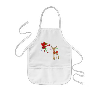 Christmas Holiday kids apron