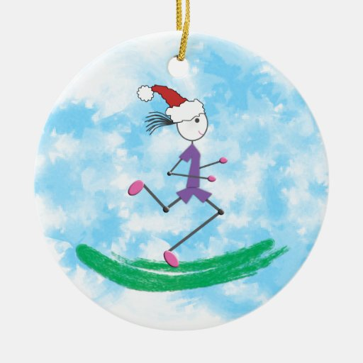 Christmas Holiday Lady Runner Christmas Ornaments