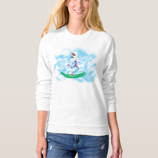 Christmas Holiday Lady Runner © T Shirt