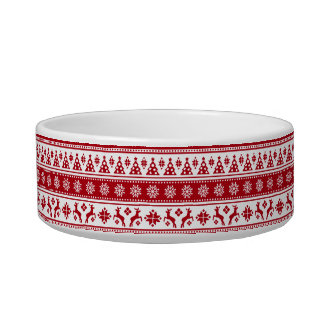 Christmas Holiday Nordic Pattern Cozy Bowl