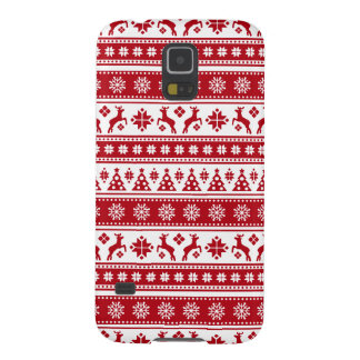 Christmas Holiday Nordic Pattern Cozy Cases For Galaxy S5