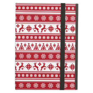 Christmas Holiday Nordic Pattern Cozy iPad Air Case