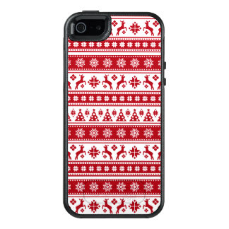 Christmas Holiday Nordic Pattern Cozy OtterBox iPhone 5/5s/SE Case