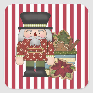 Christmas Holiday Nutcracker cartoon sticker